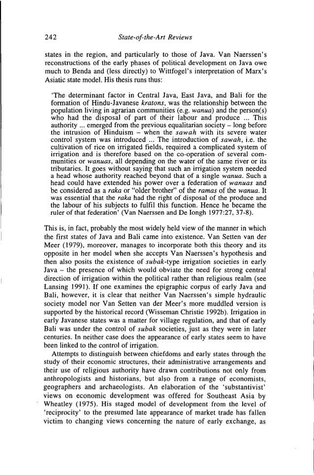wittfogel thesis Definition of oriental despotism a concept popularized by the german sociologist karl wittfogel oriental despotism considers this thesis in.