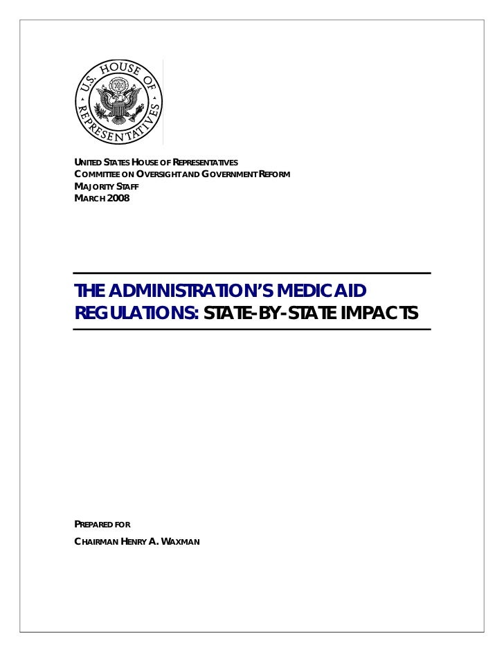 UNITED STATES HOUSE OF REPRESENTATIVES COMMITTEE ON OVERSIGHT AND GOVERNMENT REFORM MAJORITY STAFF MARCH 2008     THE ADMI...