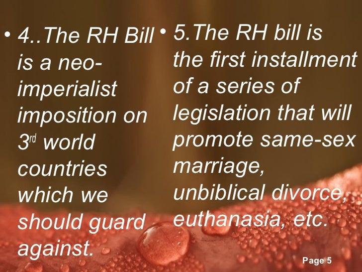Rh bill essays about life