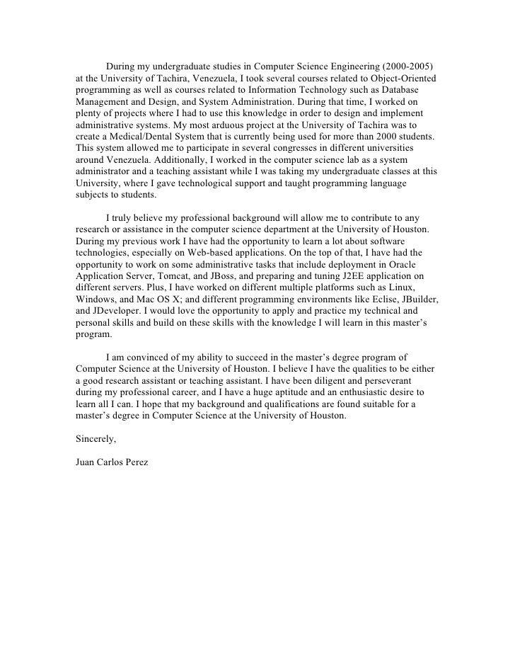 Statement Of Purpose Juan Carlos Perez