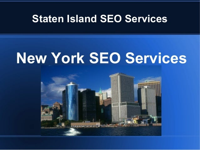 Staten Island SEO Services New York SEO Services