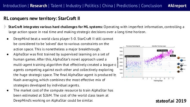 StarCraft integrates various hard challenges for ML systems: Operating with imperfect information, controlling a large act...