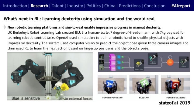 New robotic learning platforms and sim-to-real enable impressive progress in manual dexterity. UC Berkeley's Robot Learnin...