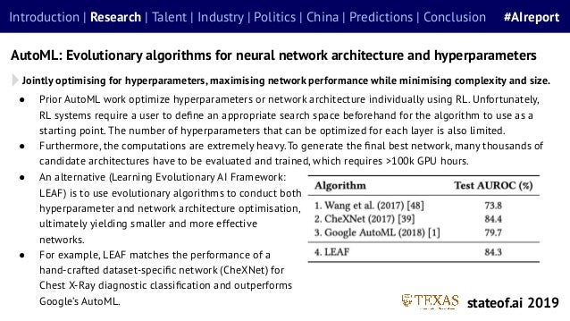 ● Prior AutoML work optimize hyperparameters or network architecture individually using RL. Unfortunately, RL systems requ...