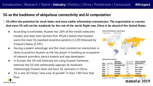 ● According to estimates, Huawei has 28% of the world's telecoms market, and data from German firm IPlytics shows that Huaw...