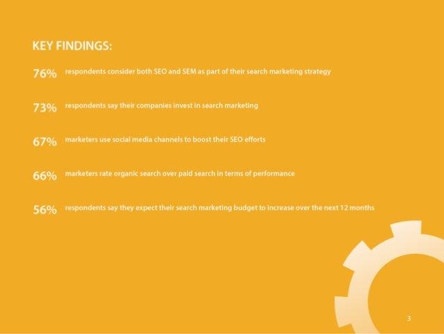 State of B2B Search Marketing 2015 Slide 3