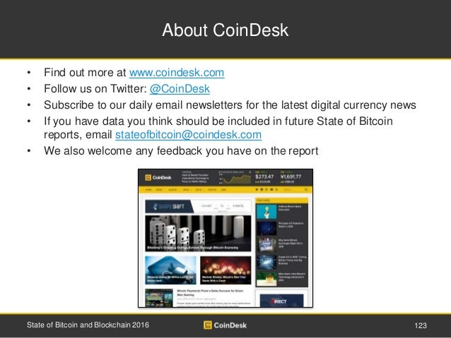 About CoinDesk • Find out more at www.coindesk.com • Follow us on Twitter: @CoinDesk • Subscribe to our daily email newsle...