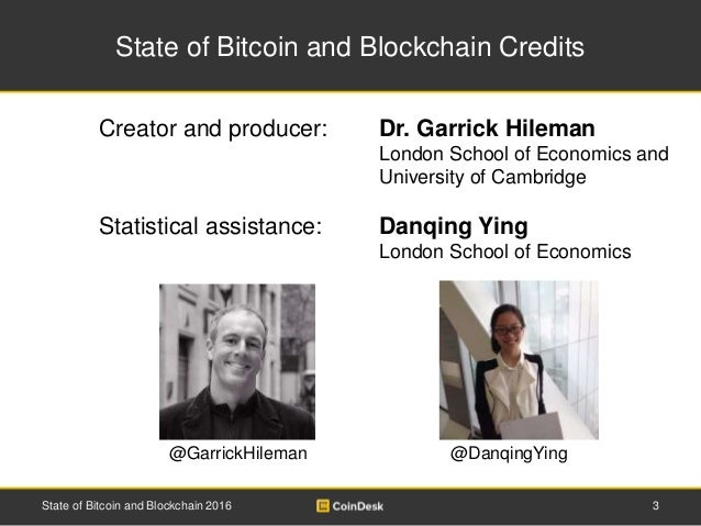 State of Bitcoin and Blockchain 2016 Slide 3