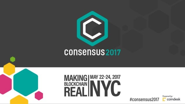 'State of Blockchain' - Consensus 2017