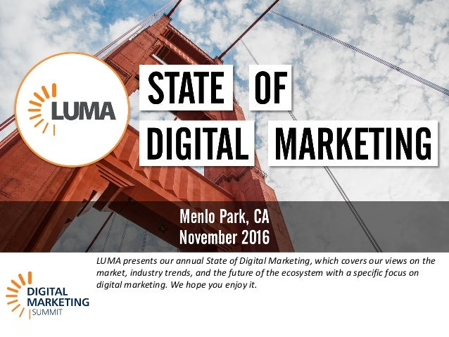 LUMA\'s State of Digital Marketing at DMS West 16