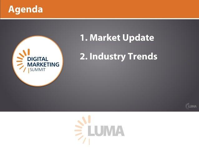 LUMA's State of Digital Marketing at DMS West 16 Slide 3