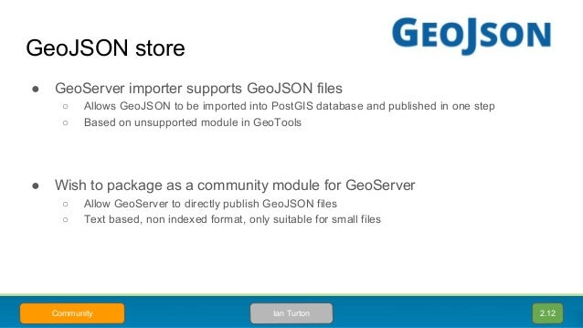 State of GeoServer 2 12