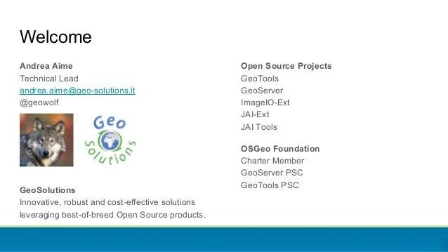 State of GeoServer 2.12 Slide 2