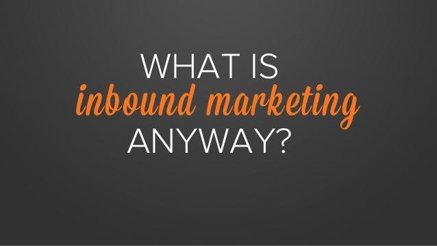 State of Inbound Marketing Report Sneak Peek Slide 2