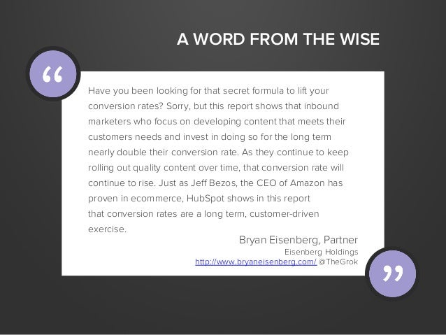 A WORD FROM THE WISEHave you been looking for that secret formula to lift yourconversion rates? Sorry, but this report sho...