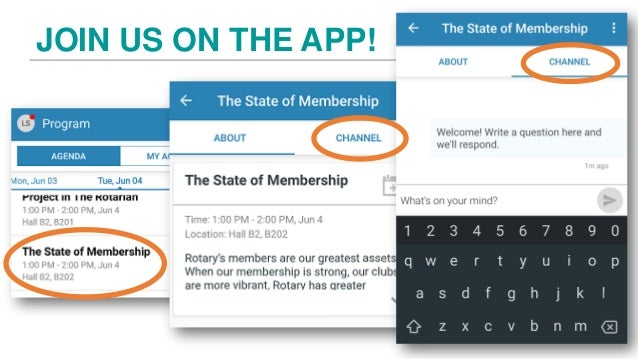 The State of Membership Slide 3