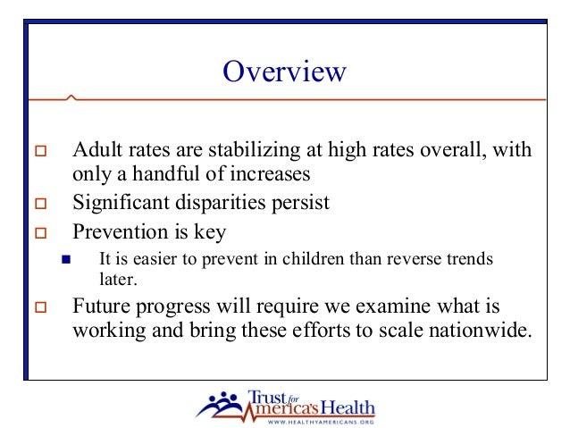 State of Obesity 2015 Slide 2