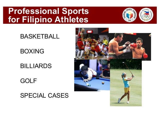 Famous filipino athletes and their sportsbook