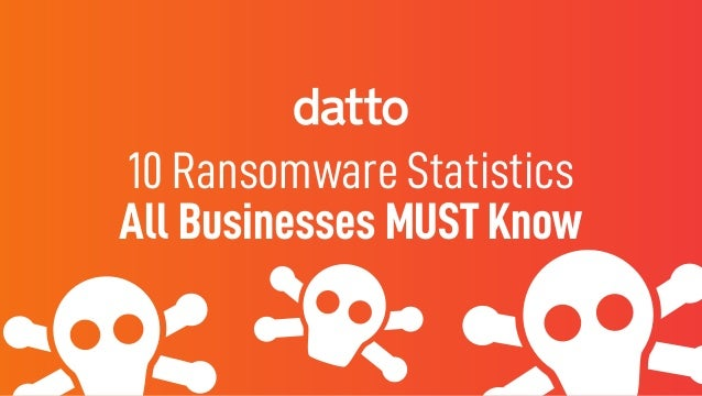 10 Ransomware Statistics All Businesses MUST Know
