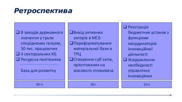 Ретроспектива 90-ті 10-ті00-і  8 заводів державного значення у трьох споріднених галузях, 50 тис. працюючих  4 сектораль...