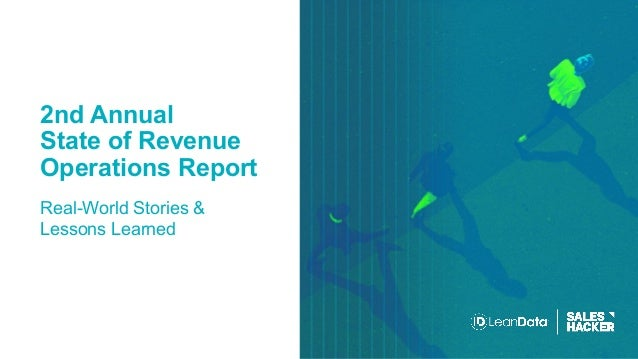 2nd Annual State of Revenue Operations Report Real-World Stories & Lessons Learned