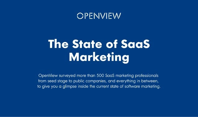 About OpenView OpenView, the expansion stage venture firm, helps build software companies into market leaders. Through our...