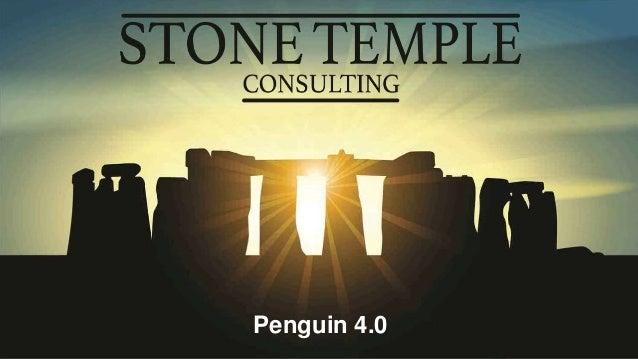 Eric Enge @stonetemple Penguin 4.0
