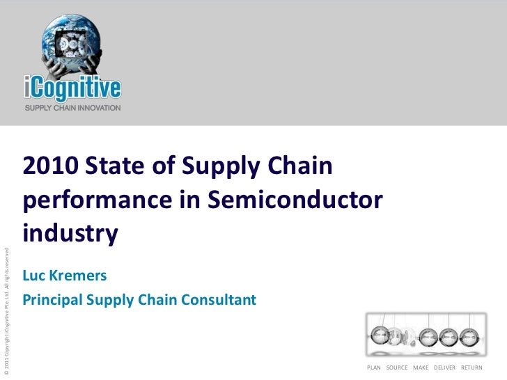 2010 State of Supply Chain performance in Semiconductor industry<br />Luc Kremers<br />Principal Supply Chain Consultant<b...