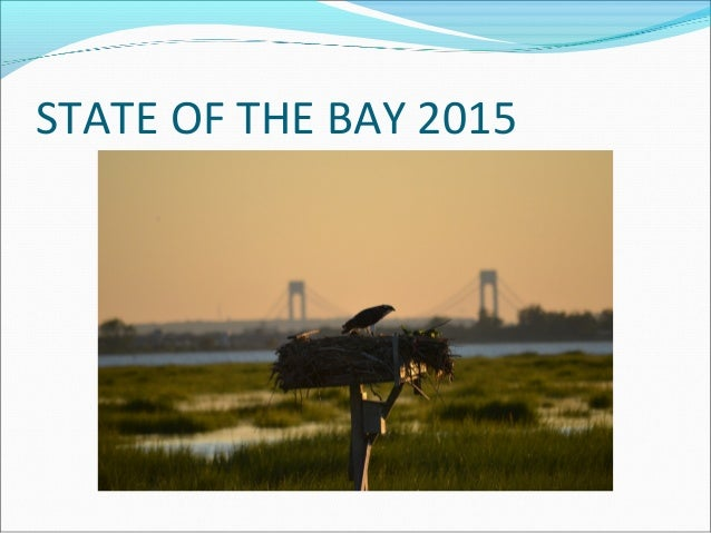 STATE OF THE BAY 2015