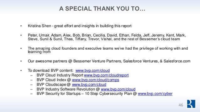 A SPECIAL THANK YOU TO… • Kristina Shen - great effort and insights in building this report • Peter, Umair, Adam, Alex, Bo...