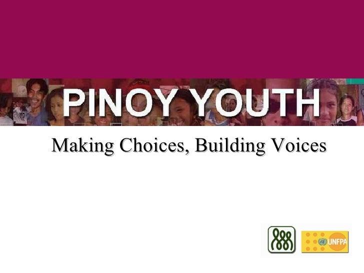 Traits of filipino youth