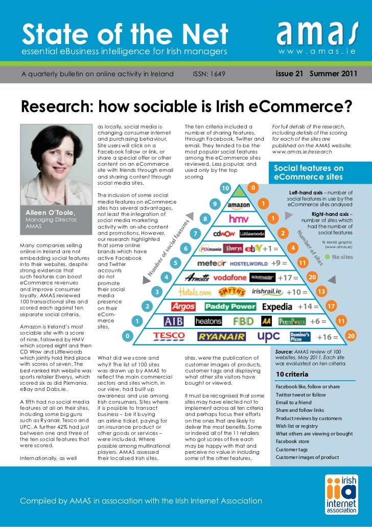 State of the Netessential eBusiness intelligence for Irish managers                                                       ...