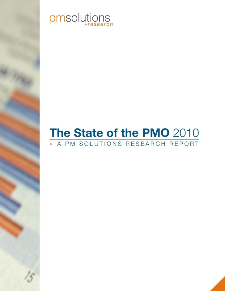 The State of the PMO 2010 » A PM SOLUTIONS RESEARCH REPORT