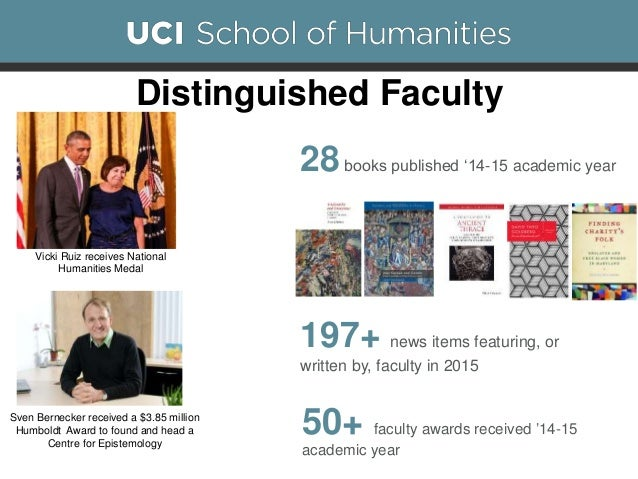 State of the UC Irvine School of Humanities