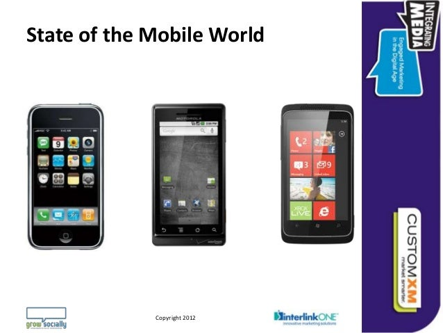 State of the Mobile World                                                                 Questions or Comments?         C...