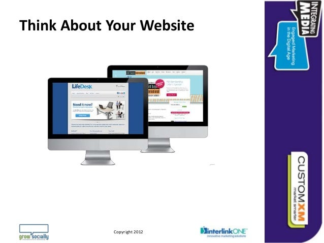 Think About Your Website                                                                 Questions or Comments?         Co...