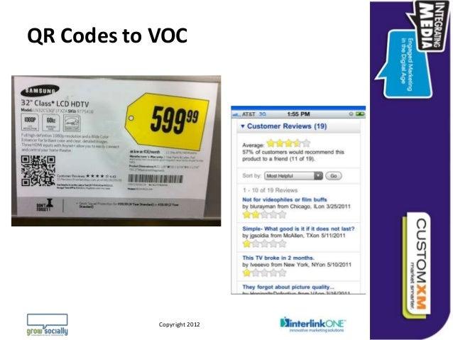 QR Codes to VOC                                                                Questions or Comments?        Copyright © 2...