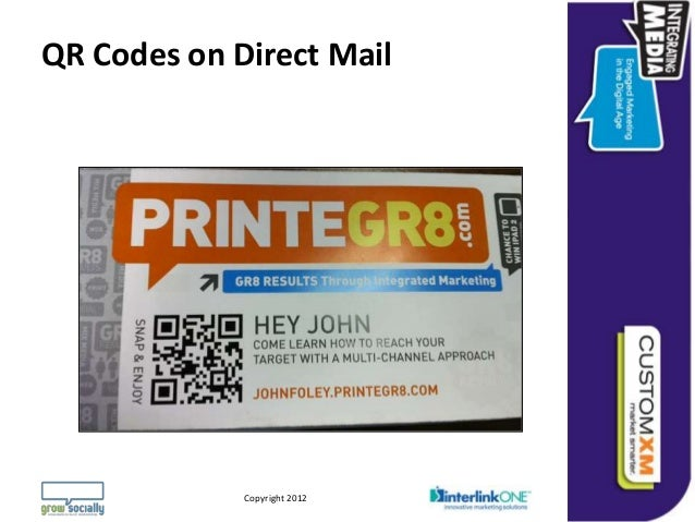 QR Codes on Direct Mail                                                                 Questions or Comments?         Cop...