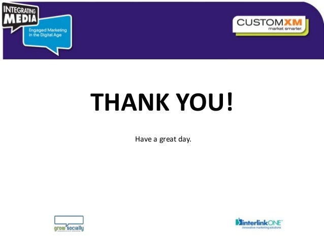 THANK YOU!                                  Have a great day.                       Copyright © 2010 Grow Socially, Inc. A...
