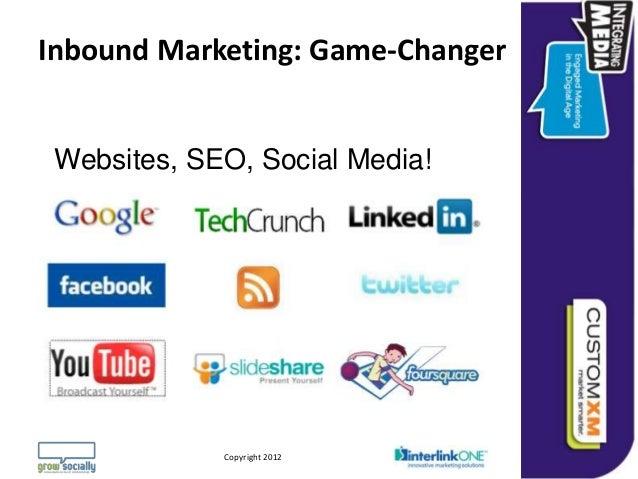 Inbound Marketing: Game-Changer Websites, SEO, Social Media!                                                              ...
