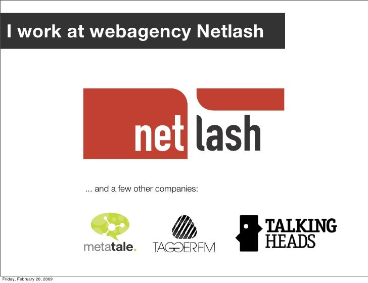 The State of the Web: back to the Middle Ages Slide 3