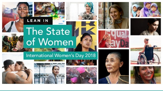 The State of Women International Women's Day 2018