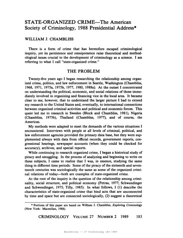 HeinOnline -- 27 Criminology 183 1989