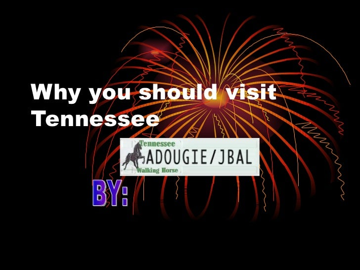 Why you should visit Tennessee BY: