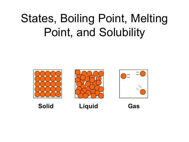 melting point and boiling point of
