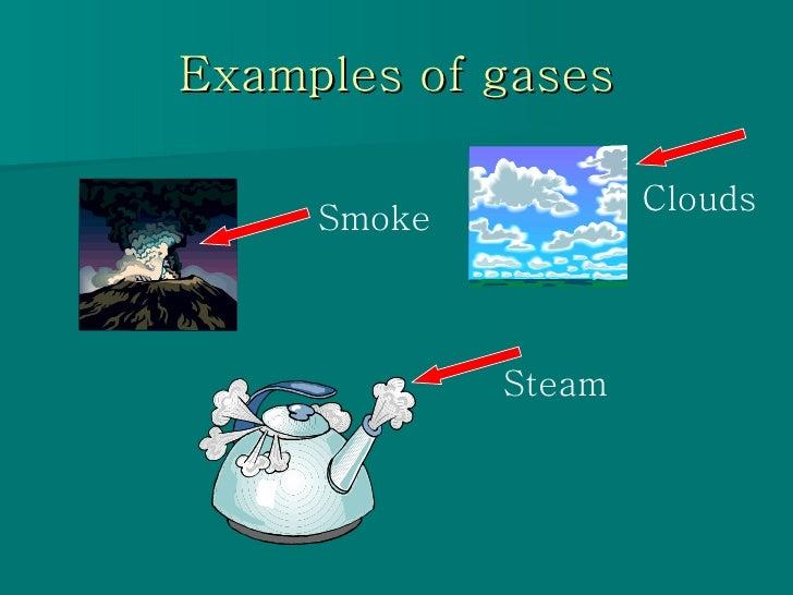 states of matter solid liquid gas clip art border Solid-Liquid Gas Chart