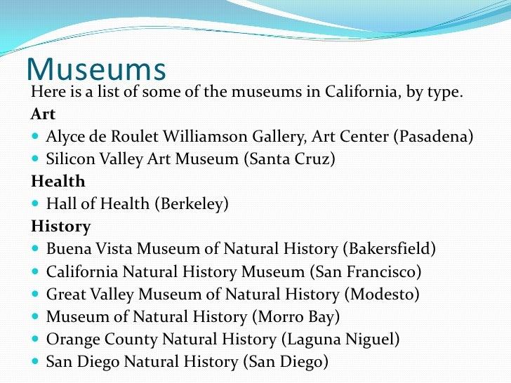Modesto Museum Natural History