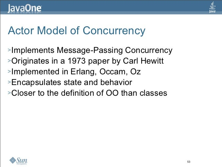 State: You're Doing It Wrong - Alternative Concurrency Paradigms For The JVM