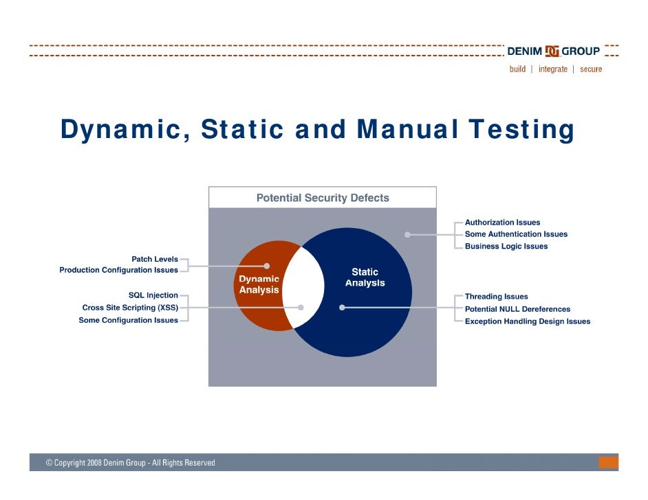what is static analysis tool in testing