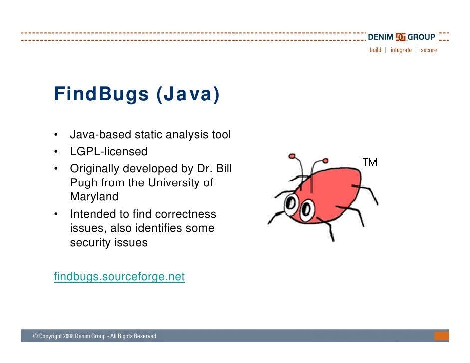 java static analysis tools